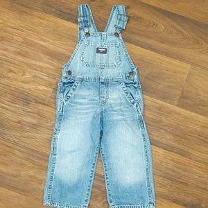OshKosh B'gosh Jean overalls 2t